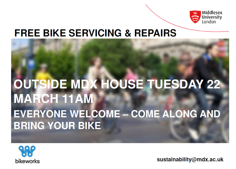 Free Bike repairs on campus