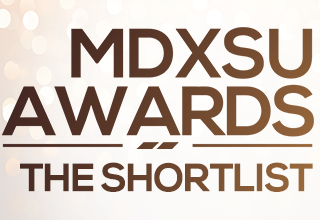 MDXSU Awards Shortlist logo