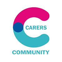 Image shows Carers Community Logo