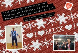 mdx student is olympic fencer