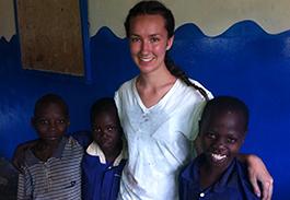 Sarah volunteering spotlight