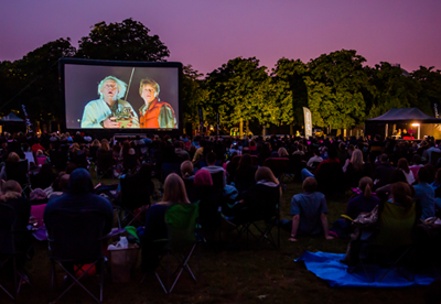 outdoor cinema photo