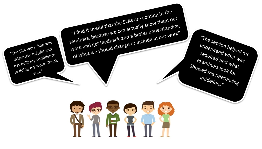 What Students say about SLAs
