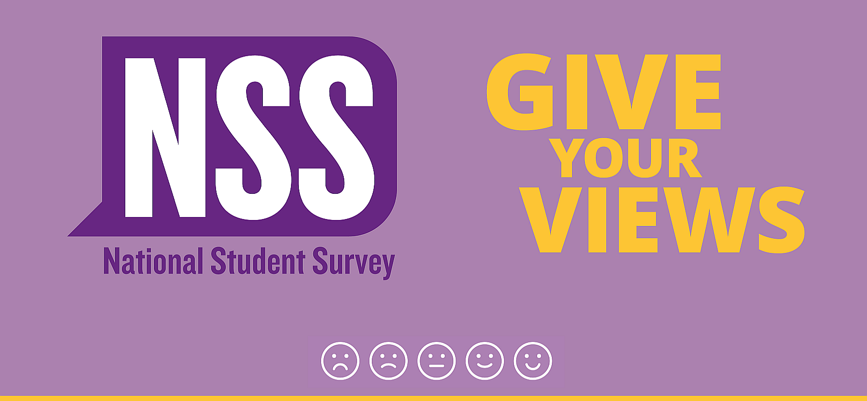 Complete the NSS survey today