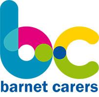 Image shows Barnet Carers logo